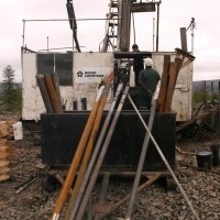 2015 Field Season - Diamond Drill Rig