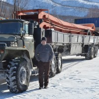 Q1 2016 Winter Road Supply Transport Convoy